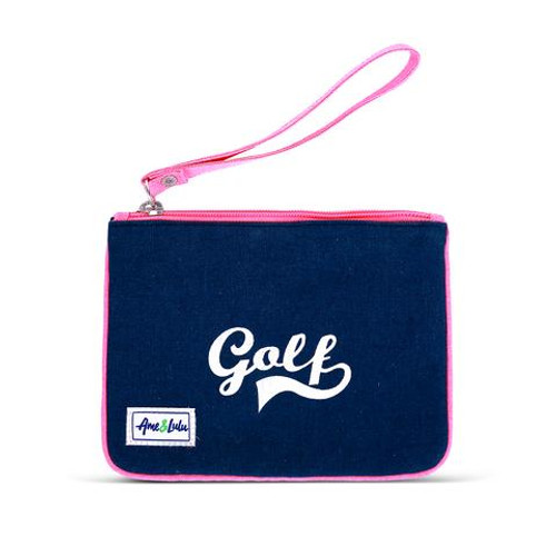 A&L Forget Me Not Golf Wristlet