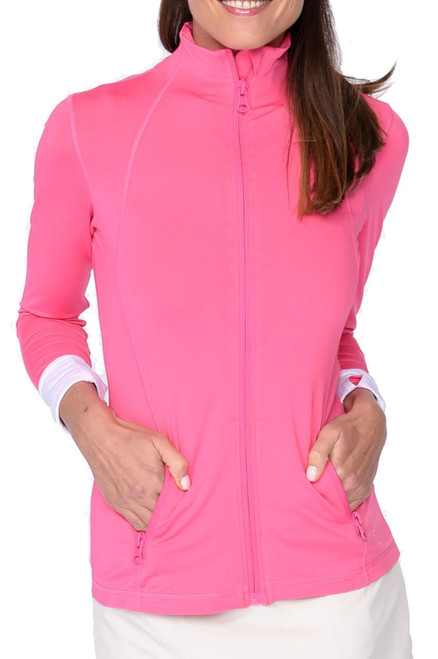 Golftini GT Tech Jacket - Hot Pink
