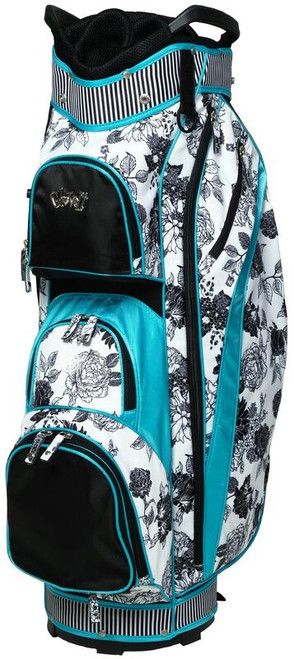 Glove It Black & White Rose Ladies Golf Bag