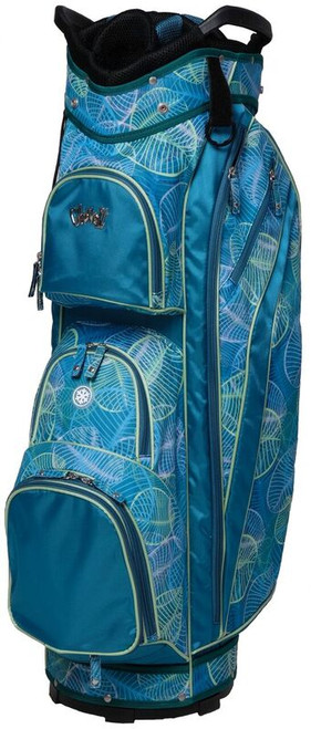 Glove It Aqua Leaf Ladies Golf Bag