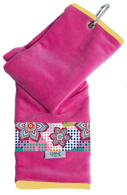 Glove It Bloom Ladies Golf Towel
