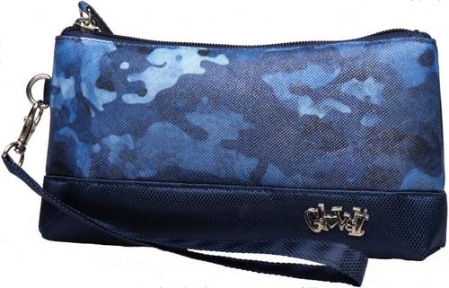 Glove It Blue Camo Wristlet
