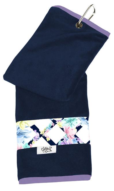 Glove It Pastel Lattice Ladies Golf Towel
