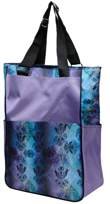 Glove It Lilac Paisley Tennis Tote Bag