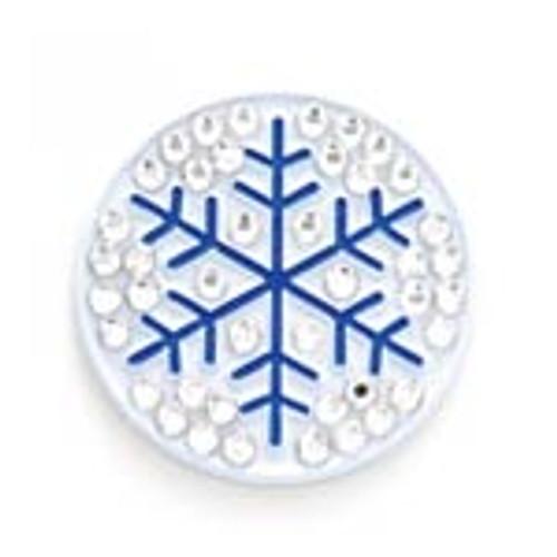 Bonjoc Snowflake Swarovski Crystal Ball Marker
