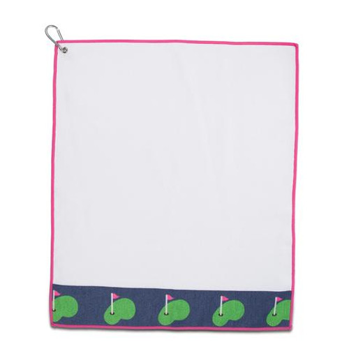 Ame & Lulu Tinsley Putting Green Golf Towel