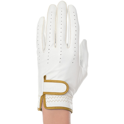 Nailed Elegance Cognac Golf Glove