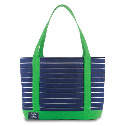 Ame & Lulu New Englander Tote - Kelly Green