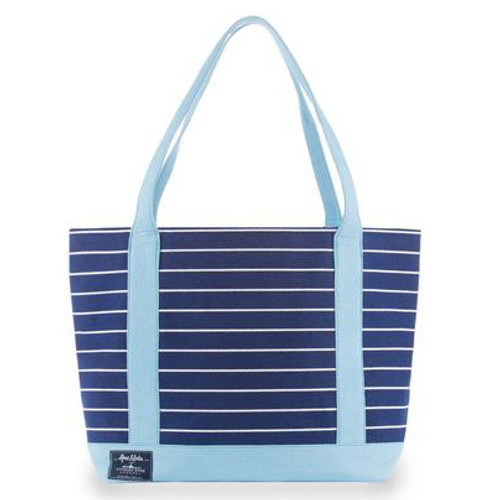 Ame & Lulu New Englander Tote - Light Blue