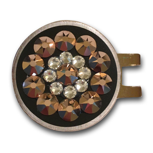 Blingo Rose Gold Ladies Golf Ball Marker