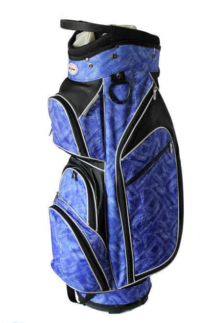 Taboo Fashions Monaco Blue Brushstrokes Ladies Golf Bag