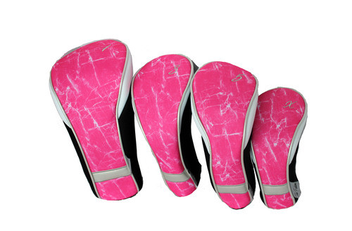 Taboo Fashions Pink Brushstrokes Ladies Club Cover Set