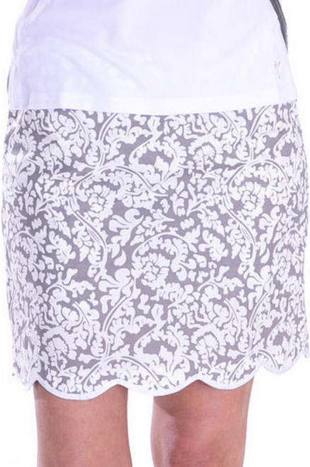 Golftini Dreamer Stretch Cotton Golf Skort - 2 Lengths