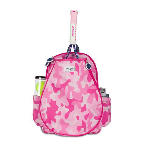 Ame & Lulu Little Love Girls Tennis Backpack - Pink Camo