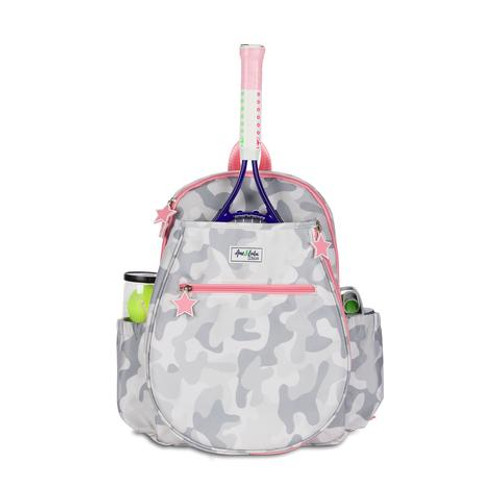 Ame & Lulu Big Love Girls Tennis Backpack - Grey Camo