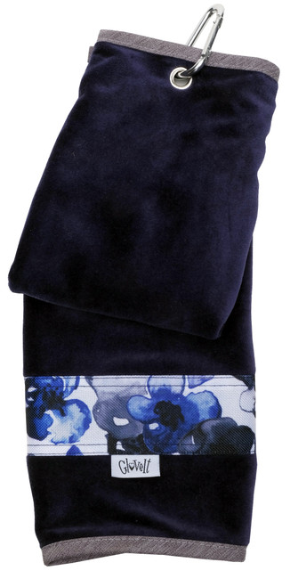 Glove It Indigo Poppy Ladies Golf Towel