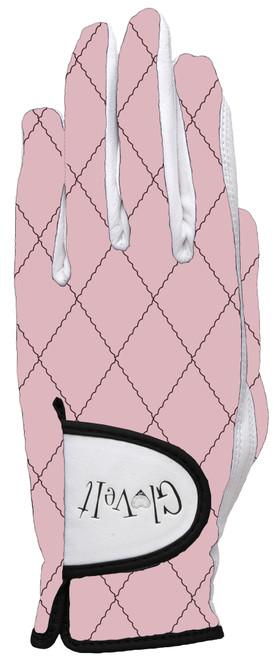 Glove It Rose Gold Quilt Ladies Golf Glove