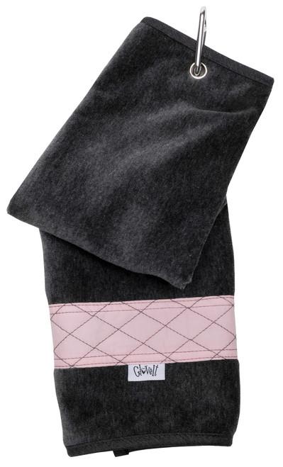 Glove It Rose Gold Quilt Ladies Golf Towel