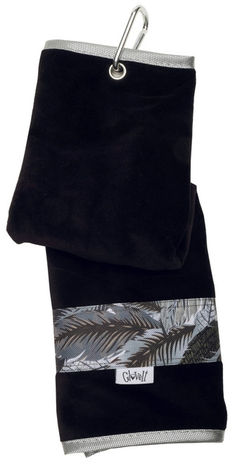 Glove It Shaded Leaf Ladies Golf Towel