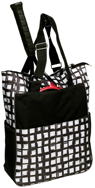 Glove It Abstract Pane Tennis Tote Bag
