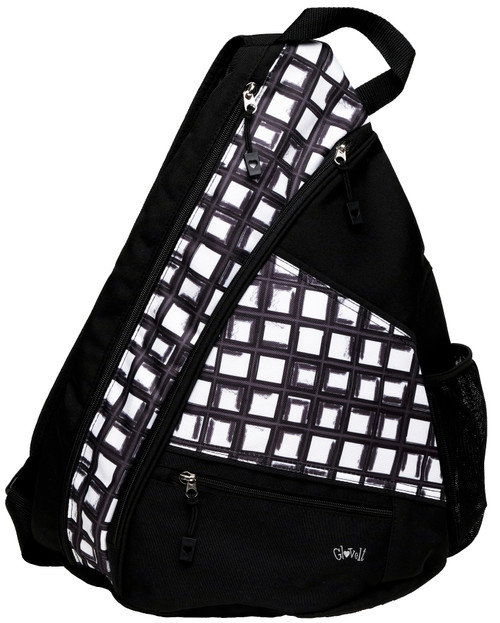 Glove It Abstract Pane Pickleball Sling Bag