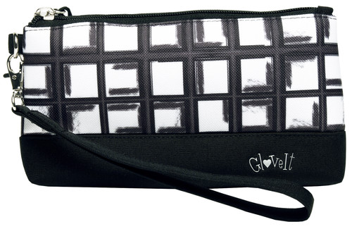 Glove It Abstract Pane Wristlet
