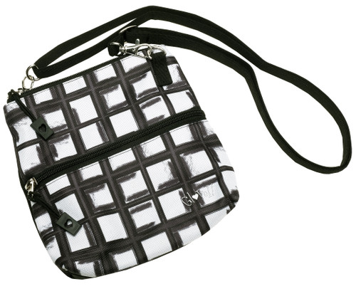 Glove It Abstract Pane Zip Golf Accessory Bag
