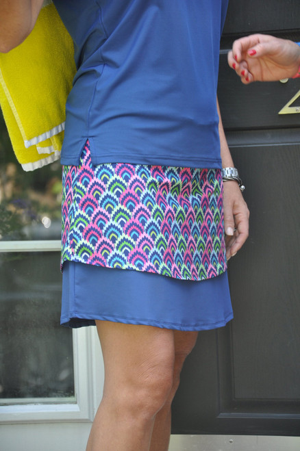 Birdies & Bows Lay It Up Layer Golf Skort