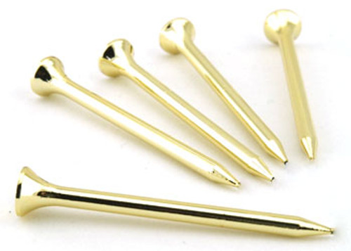 Metallic Gold Golf Tees - Made in the USA