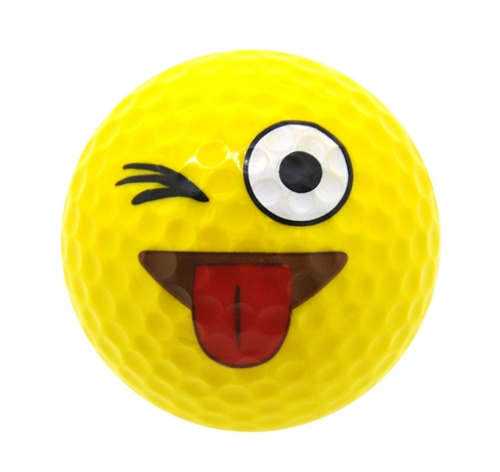 Just Kidding Emoji Golf Balls