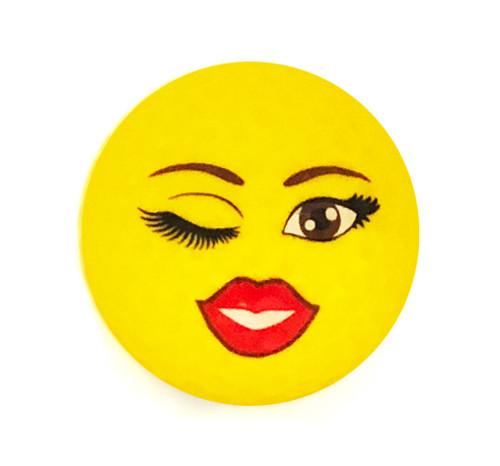 Wink Emoji Golf Balls