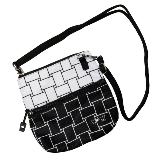Glove It Basketweave Zip Golf Accessory Bag