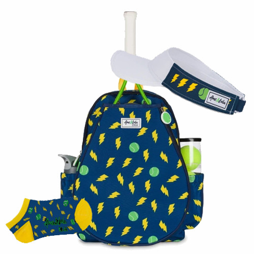 Ame & Lulu Little Love Thunder Kids Tennis Backpack + Accessories