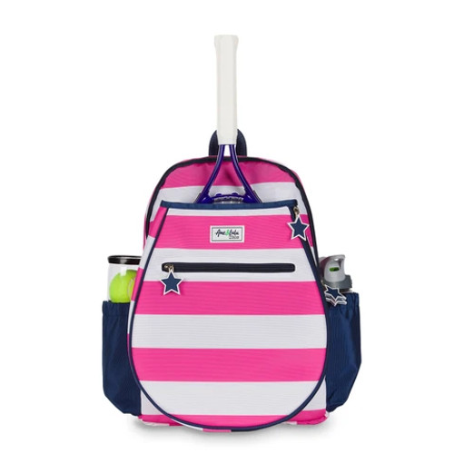 Ame & Lulu Big Love Girls Tennis Backpack - Candy