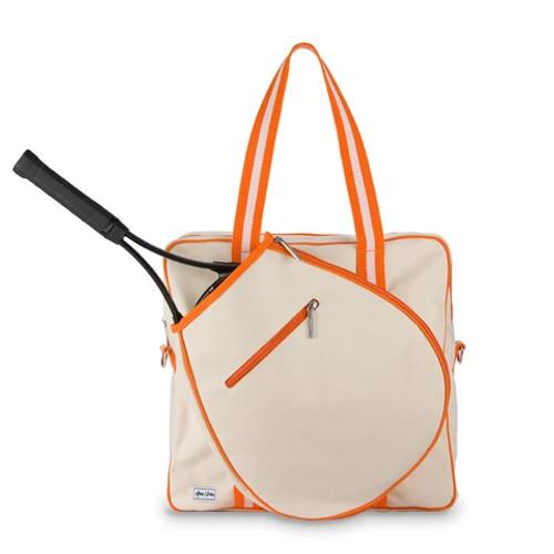 Ame & Lulu Hamptons Tennis Tour Tennis Bag - Clementine