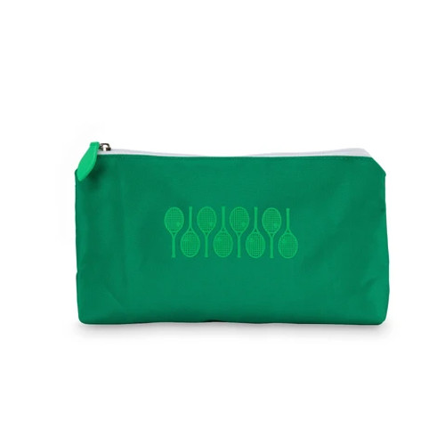Ame & Lulu Green Racquets Everyday Tennis Pouch