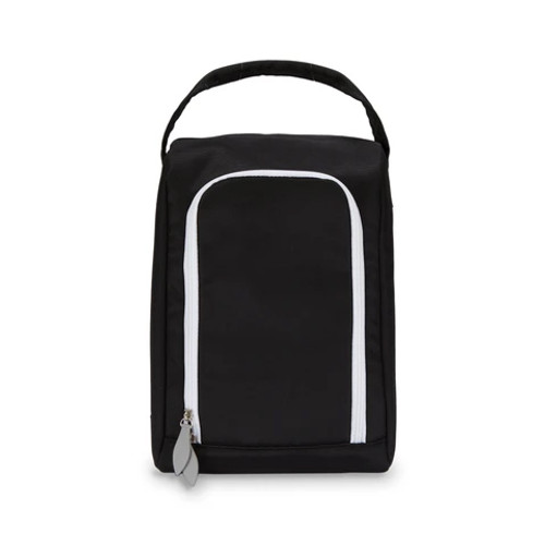 Ame & Lulu Black Sport Shoe Bag