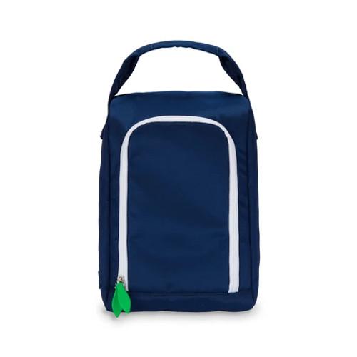 Ame & Lulu Navy Blue Sport Shoe Bag