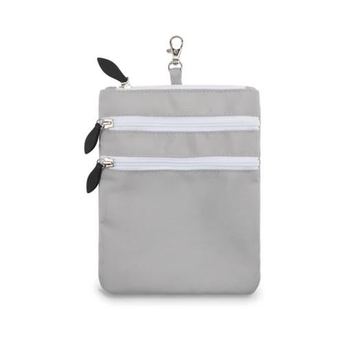 Ame & Lulu Grey 3 Zip Carry All Bag