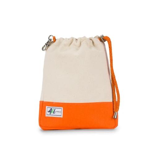 Ame & Lulu Hamptons Ditty Bag Clementine