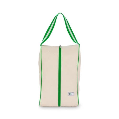 Ame & Lulu Hamptons Shoe Bag - Limeade