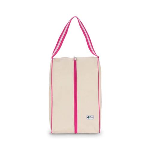 Ame & Lulu Hamptons Shoe Bag - Pomegranate