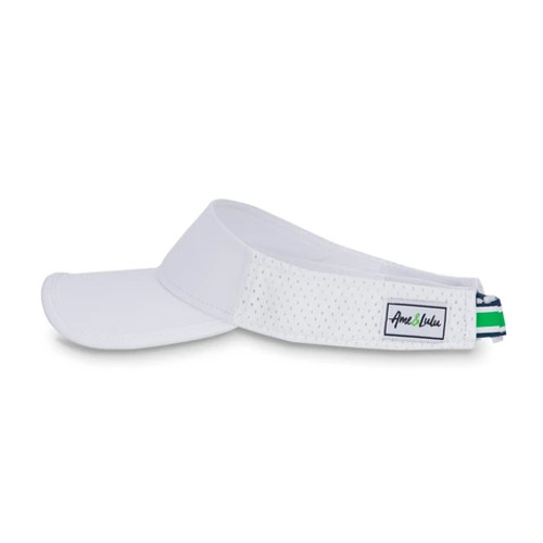 Ame & Lulu Performance Visor - Green/Navy