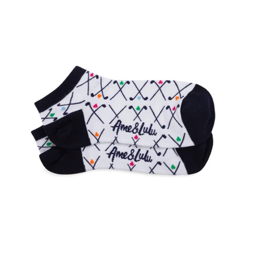 Ame & Lulu Club Love Golf Socks