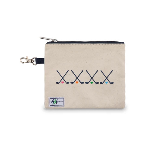 A&L Brigsby Club Love Golf Tee Pouch