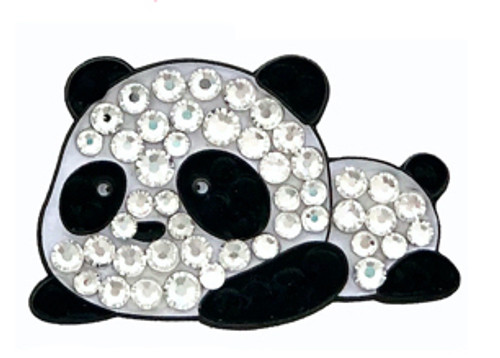 Bonjoc Panda Swarovski Crystal Ball Marker