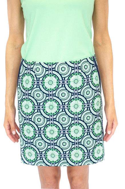 Golftini Mint Julep Performance Skort