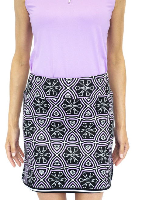 Golftini Sangria Pull-On Tech Skort