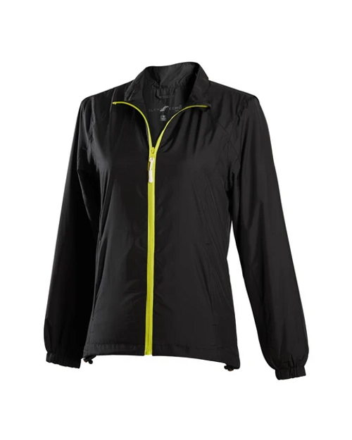 Glen Echo Ladies Ultra Light Black Water Repellent Jacket