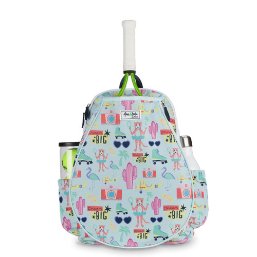 Ame & Lulu Little Love Kids Tennis Backpack - Palm Springs